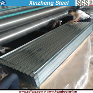0.18mm Dx51d Galvanized Corrugated Steel Sheet with Full Hard pictures & photos