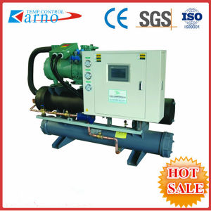 30t Water Chiller/ Water Cooled Screw Chiller for Industrial (KNR-110WS)