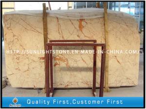 Polishing Beige Rosalia Marble for Kitchen Countertops, Bathroom Floor Tiles pictures & photos
