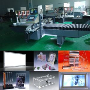 China Interior Lighting Decoration Double Edges Polishing Machine pictures & photos