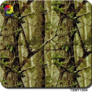 Tsautop Newest Spring Forest Green Leaf Hydrodip Film 1m pictures & photos