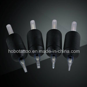 2015 New High Quality Silicone Rubber Disposable Tattoo Grips with Clear Tips pictures & photos