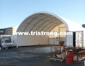 Sun Shelter, PVC Container Tent, Prefabricated Container Shelter (TSU-4040C) pictures & photos