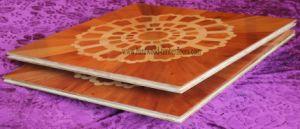 18mm Red Sandalwood Engineered Parquet Wood Floor pictures & photos