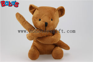 Unusual Holiday Gift Brown Teddy Bears Toy in Long Arm Design Bos1122 pictures & photos
