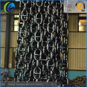 Stud Link Anchor Chain U2/U3 Grade Black Painting pictures & photos