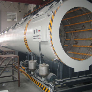 100mm PE Pipe Extruding Line pictures & photos
