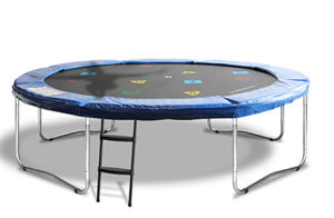 10FT Round Trampoline 4 Legs Without Enclosure Net pictures & photos