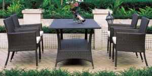 Garden Restaurant Dinng Set Rattan Furniture pictures & photos