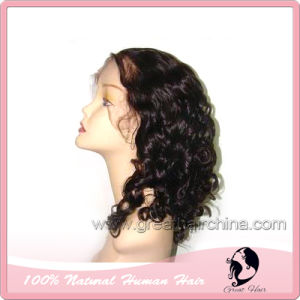 Indian Remy Human Hair Full Lace Wig (GH-LW009)
