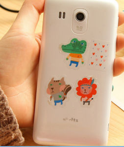 Fashion Cartoon Mobile Phone Stickers (ST-055) pictures & photos