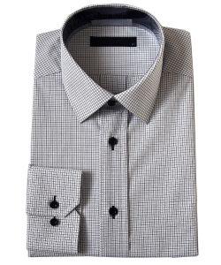 Men′s Cotton/ Poly Dress Shirts (PL-M-SHT005)