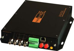 Video Data Network Multi-Drop Fiber Optic Converter