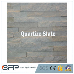 White Quartize Slate for Exterior Wall Cladding Tiles pictures & photos