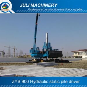 Zys900 Hydraulic Static Pile Driver, Hydraulic Jack-in Machine, Hydraulic Piling Machine