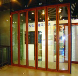 Aluminium Wood Bi-Folding Door