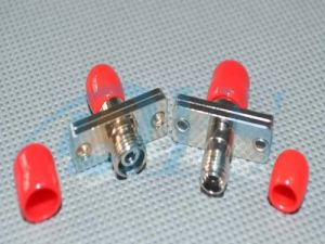 Red Singlemode Fiber Optic St Adapter pictures & photos