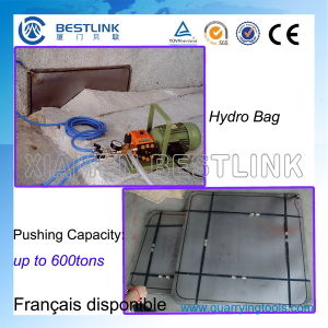 1000 Tons Steel Hydropush Bag for Marble Blocks Mining pictures & photos