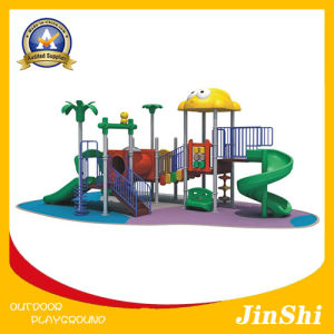 Animal World Series Children Outdoor Playground with Plastic Slide and Amusement Park GS TUV (DW-003) pictures & photos