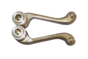 Door Hardware Brass Door Lock Lever Handle pictures & photos