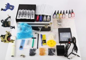 2014 Professional Three Tattoo Machines Tattoo Kit pictures & photos
