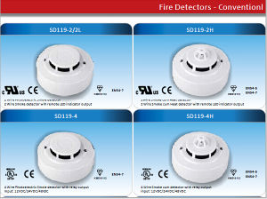 SD119 Serial Heat Detector Smoke Alarm with Auto-Reset pictures & photos
