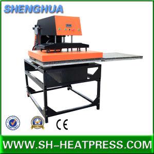 Pneumatic Double Heat Press Machine 60X80cm and 80X100cm pictures & photos
