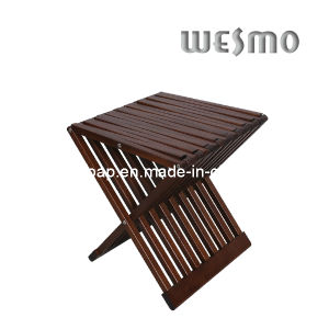 Rubber Wood Toilet Household Bathroom Folding Chair (WRW0507B) pictures & photos