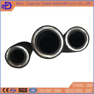 En856 4sh 4sp Flexible High Pressure Hydraulic Rubber Oil Hose pictures & photos