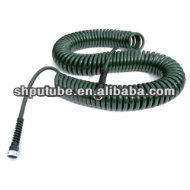 50-Foot X 3/8-Inch Polyurethane Lead Safe Coil Garden Hose - Olive Green pictures & photos