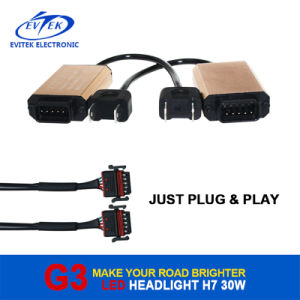 2016 New Design LED Headlight 3000lm 6500k 12 Months Warranty for Car/Auto/Truck with Optional Bulbs pictures & photos