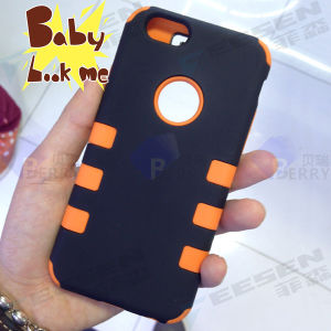 Popular Non Brand Case for iPhone 6, 2 Layers, Robot Case.