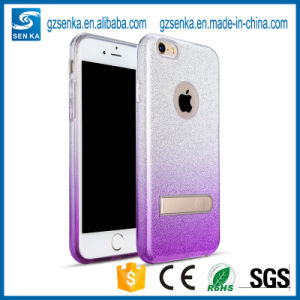 Sotf TPU Glitter Phone Stander Case for iPhone 7 pictures & photos