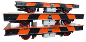 Electric Flat Car/ Low-Voltage Rail Flat Car/Kpd Series pictures & photos