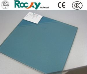 6.38mm Blue Safety Laminated Glass with CE Certificate pictures & photos