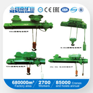 5ton Wire Rope Explosion-Proof Electric Hoist pictures & photos
