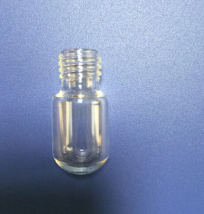 Screwed Tubular Mini Glass Vial with Round Bottom pictures & photos