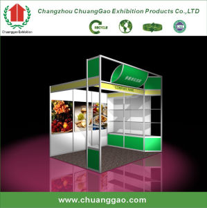 China 3 3 modular standard aluminium exhibition stand for Stand modulaire