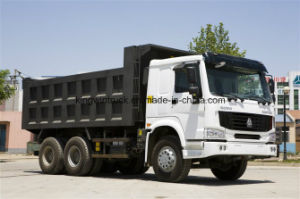Sinotruk Golden Prince Brand Dump Truck 6X4 Driving Type/Tipper Truck pictures & photos
