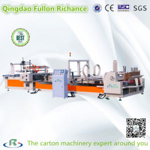 High Speed Automatic Carton Box Folding Gluing Machine for Sale pictures & photos