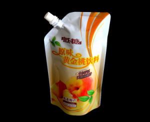 Spout Pouch Bag with Vivid Gravure Printing pictures & photos