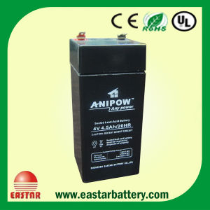 4V 2.5ah Sealed Lead Acid Battery pictures & photos