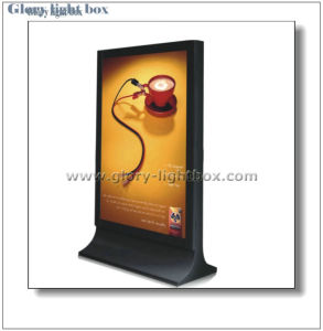 Double-Sided Outdoor Scrolling Sign Light Box pictures & photos