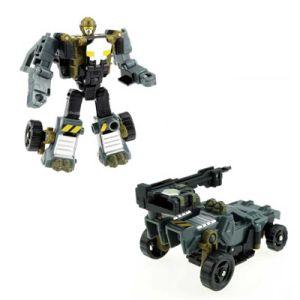 Super Man Plastic Chariot Model Deformation Robot War Truck Toy