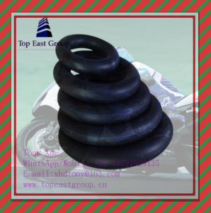 185-14, 225-14, 250-14, 275-14, 300-14, 110/80-14, Butyl, Natural, High Quality Motorcycle Inner Tube pictures & photos