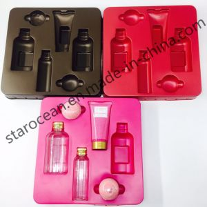 Customized Plastic Trays for Cosmetics Packaging with Cardboard pictures & photos