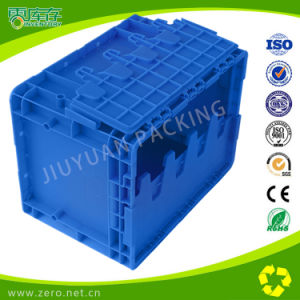 600*400*280 Plastic Turnover Bin with Lids pictures & photos
