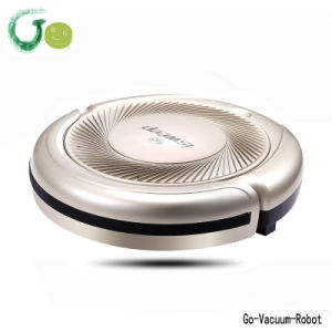 Golden Vacuum Cleaner 3in1 (sweep, vacuum, mop) Robot with Long Vacuum Cleaner Brush, Large Clean Cloth S5 Vacuum Robot for Home pictures & photos