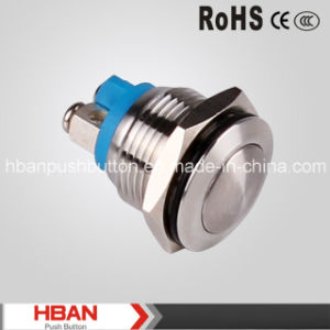 Hban Brand Gq16b-10/S Metal Push Button Switch pictures & photos