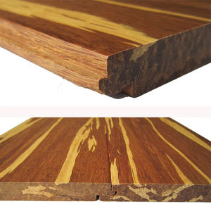 Click System or T&G Tiger Strand Woven Bamboo Flooring pictures & photos
